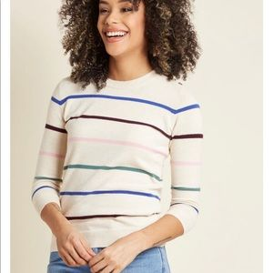 ModCloth Striped Sweater